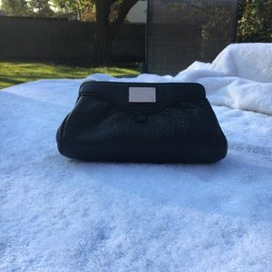 Cole Haan black small cosmetic/clutch